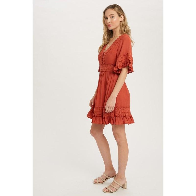 Danielle Lace Dress
