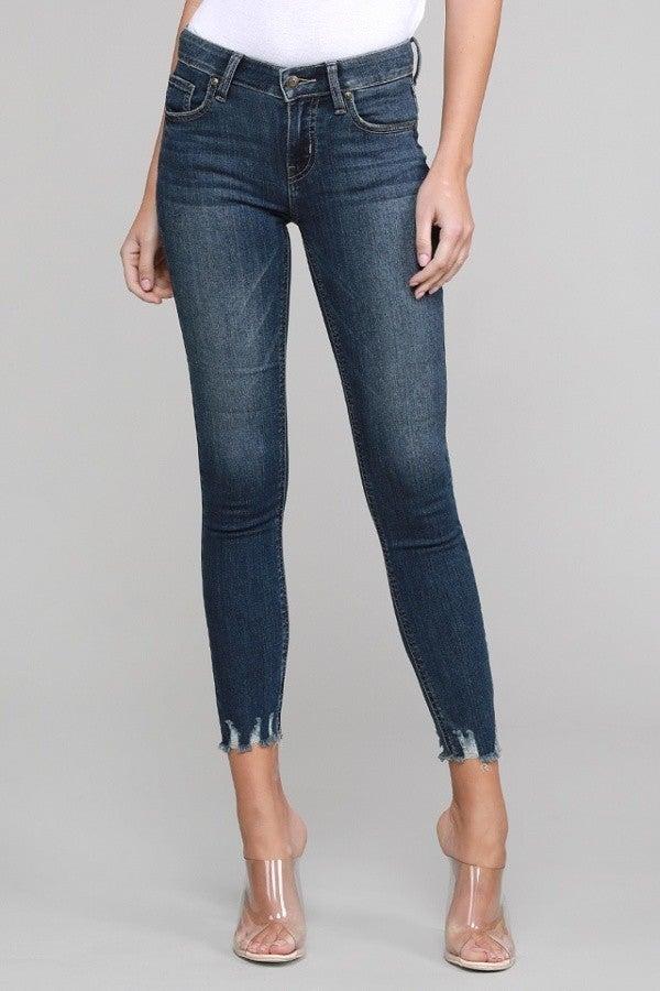 The Hannah Shark Bite Jeans