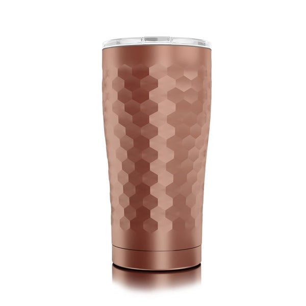20oz Hammered Copper Sic Stainless Steel Tumbler