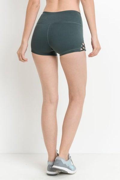 Spandex Shorts by Mono B (Multiple Colors) *Final Sale*