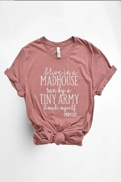 MotherHood Humor Tee (all Sizes)