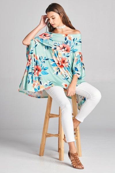 Floral  Jersey Knit