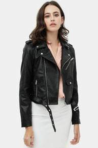 Faux Leather Jacket *Final Sale*