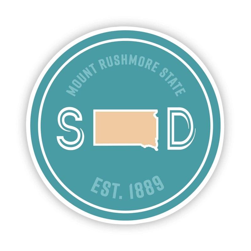 Mount Rushmore State South Dakota Sticker