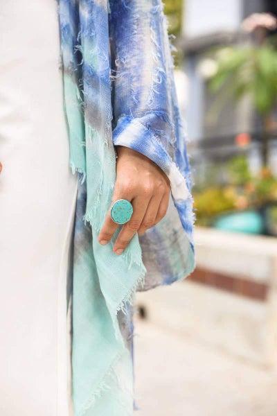 Eternity Turquoise Ring