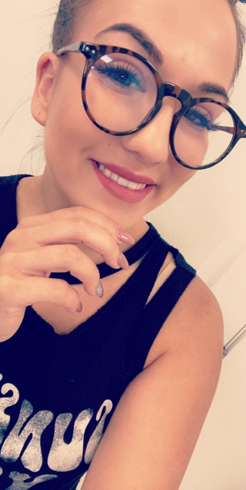Blue Block Fashion Glasses