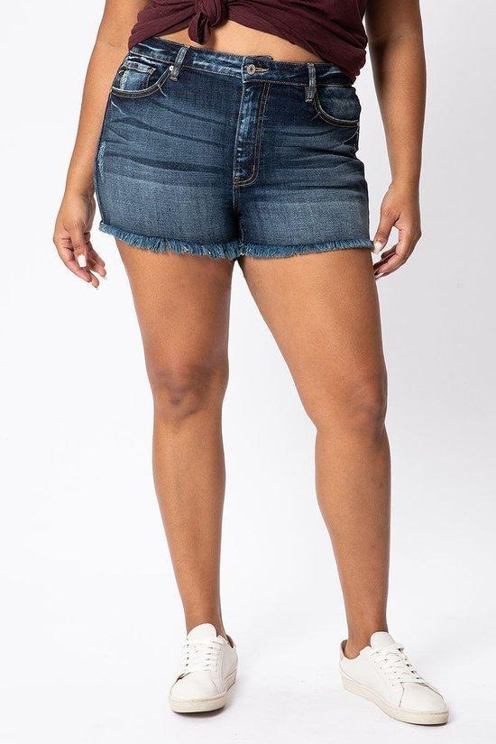 Curvy KanCan Shorts High Rise