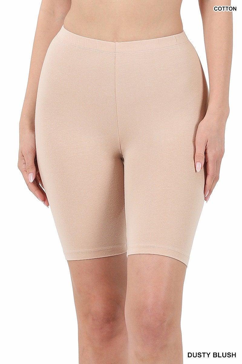 Cotton Biker Shorts(Multiple Colors)