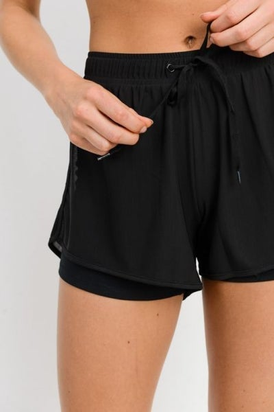 Lined Workout Shorts by Mono B *Final Sale*