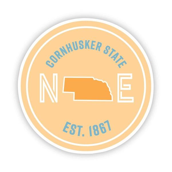 Cornhusker State Nebraska Sticker