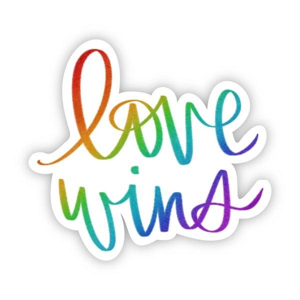 Love Wins Sticker