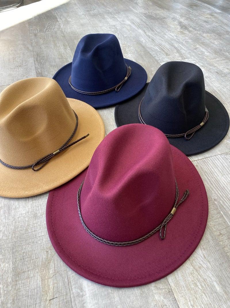 Hello Fall Brim Hat (Multiple Colors)
