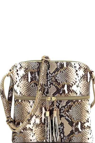 Snake Print Purse Crossbody