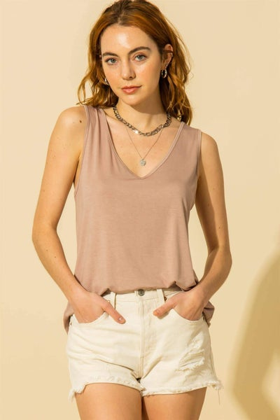Lauren Tank- Blush