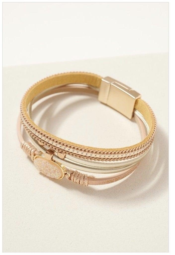 Lizzi Multi Strand Bracelet