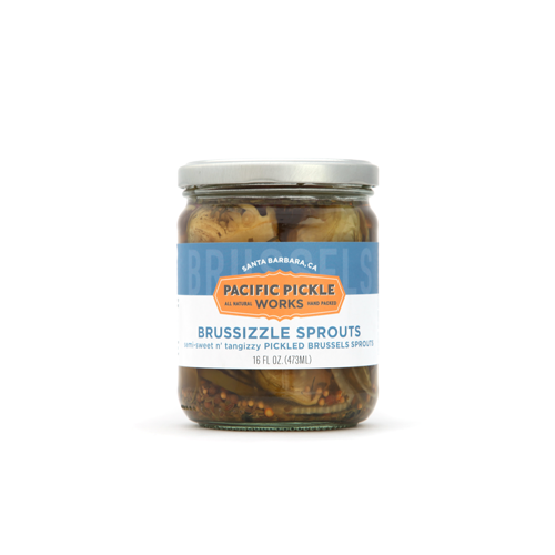 Brussizzle Sprouts - Pickled Brussels Sprouts Vegetables