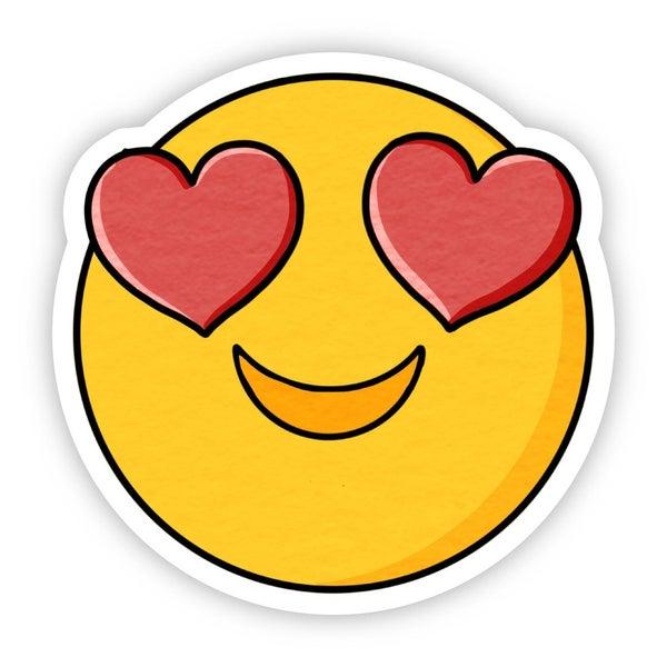 Heart Eyes Sticker