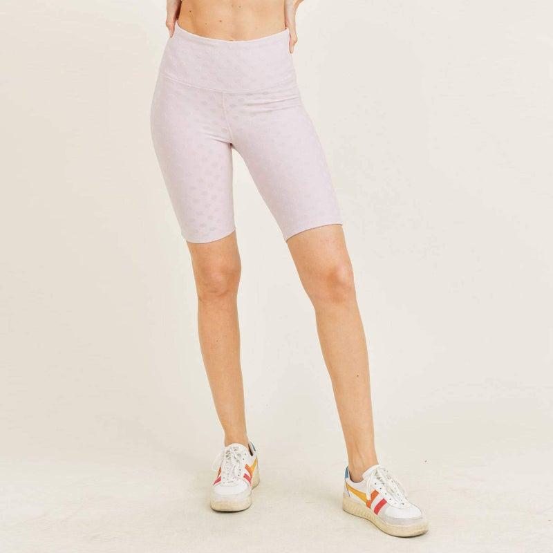 Polkadot Rider Shorts by Mono B