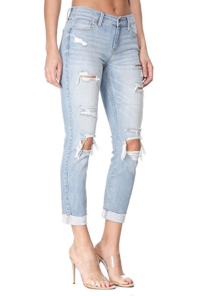 Sasha Destroyed Skinny Jean