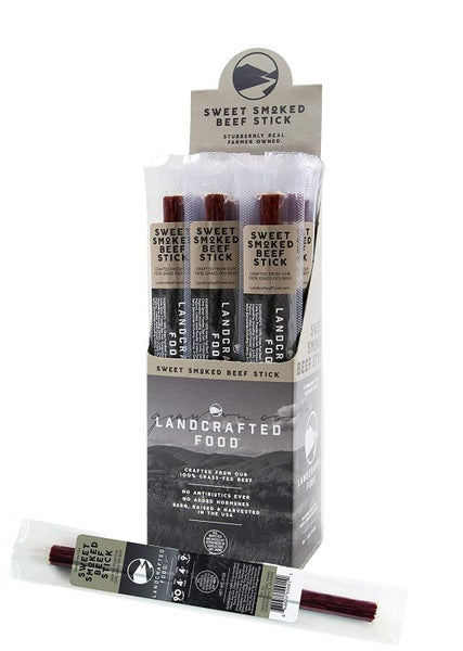 Landcrafted Food Sweet Smoked Beef Stick