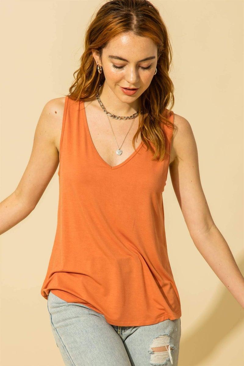 Lauren Tank- Copper