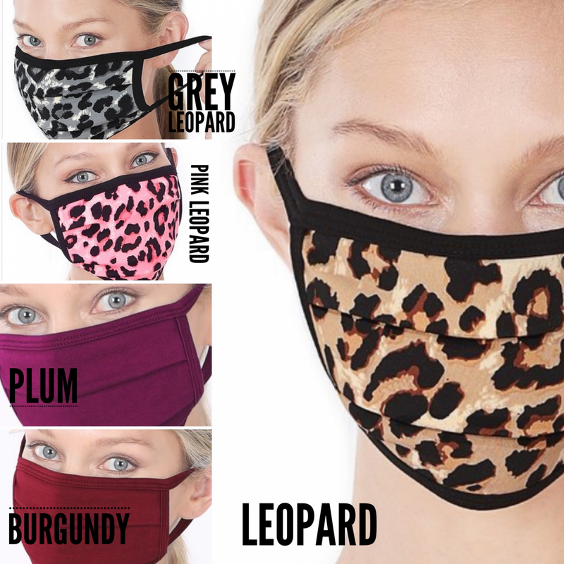 Cotton Breathable Face Mask
