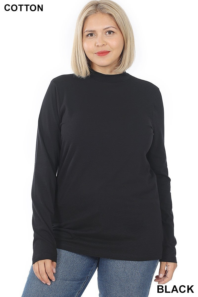 Summers Low Turtle Neck Top (Multiple Colors, all Sizes)