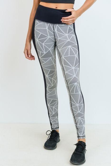 Mosaic Print Legging by Mono B