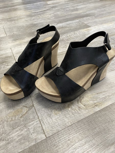 My Oh My Wedges Shoe