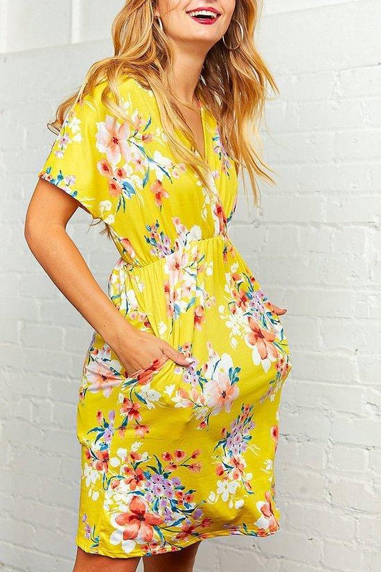Summer Days Midi Dress (all Sizes)