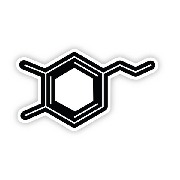 Dopamine Chemistry Sticker