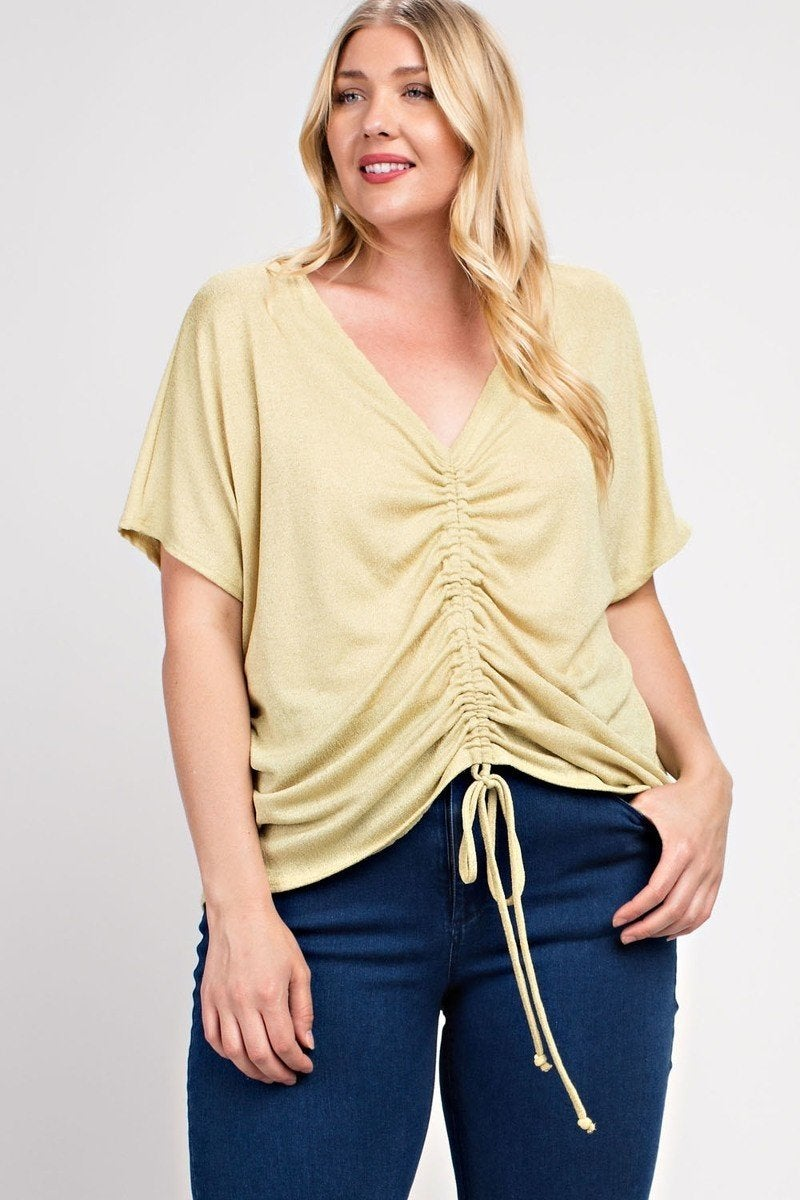Gold Tie Detail Top all sizes
