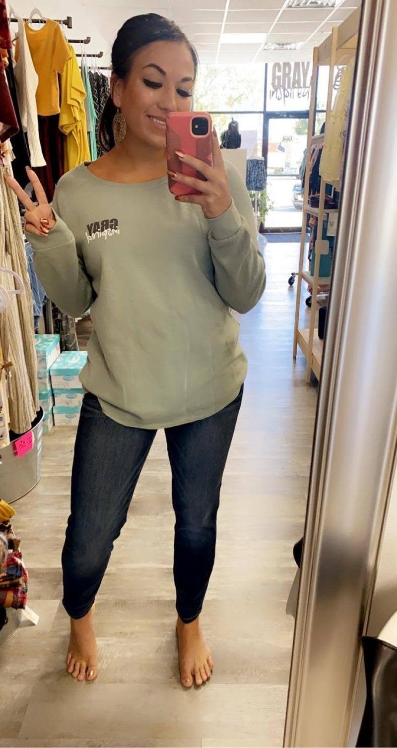 Crewneck GRAYinspired Sweater