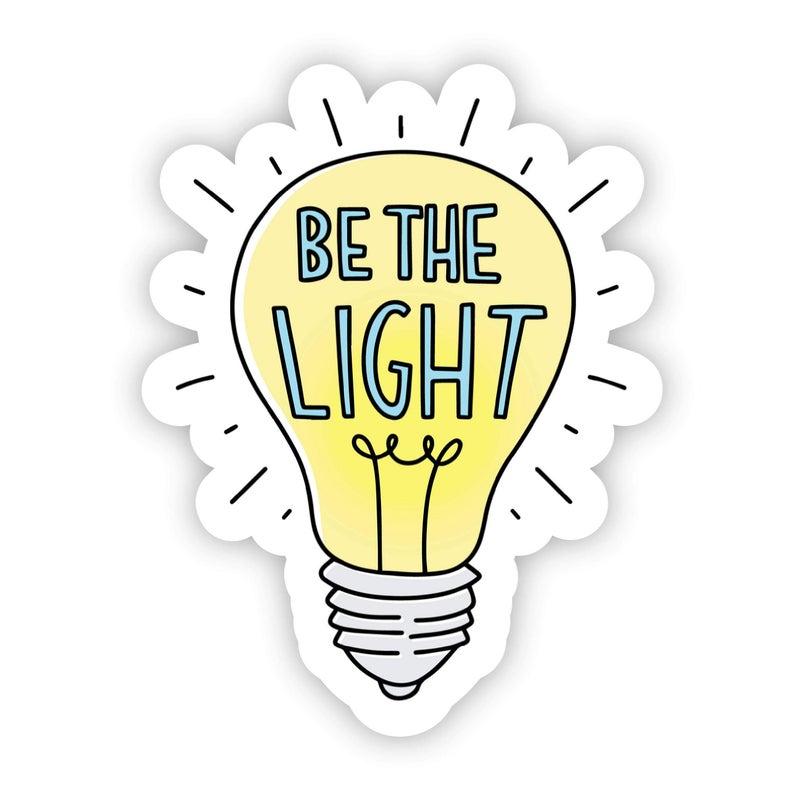 Be The Light Positivity Sticker