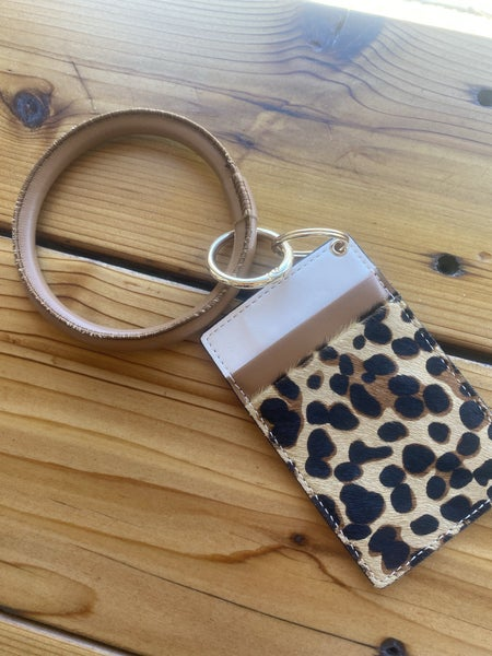Wallet Keychain Ring