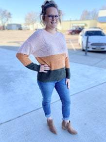 Holly Colorblock Sweater