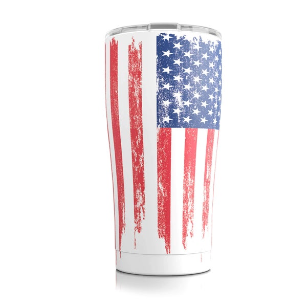 20 oz American Flag SIC Stainless Steel Tumbler