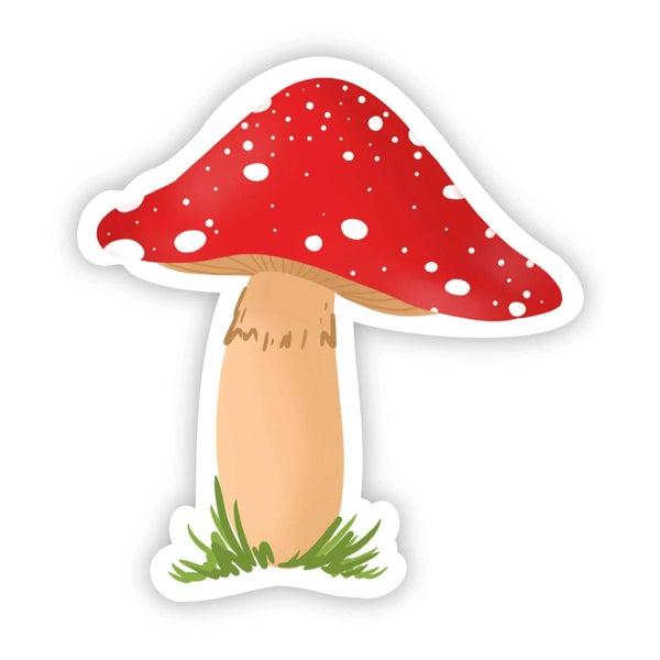 Red Mushroom Sticker