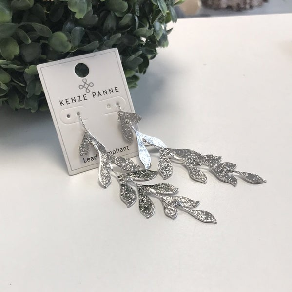 Hanging Silver Earring