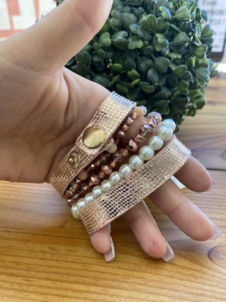 Lacey Stack Bracelet Set