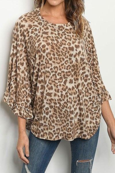 Leopard Dream Top