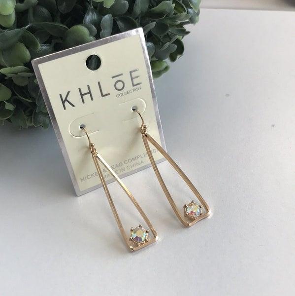 Triangle Stud Earring