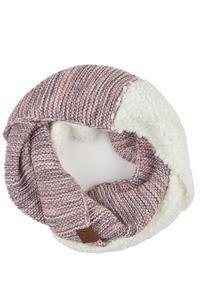 CC Popcorn Yarn Knit Scarf