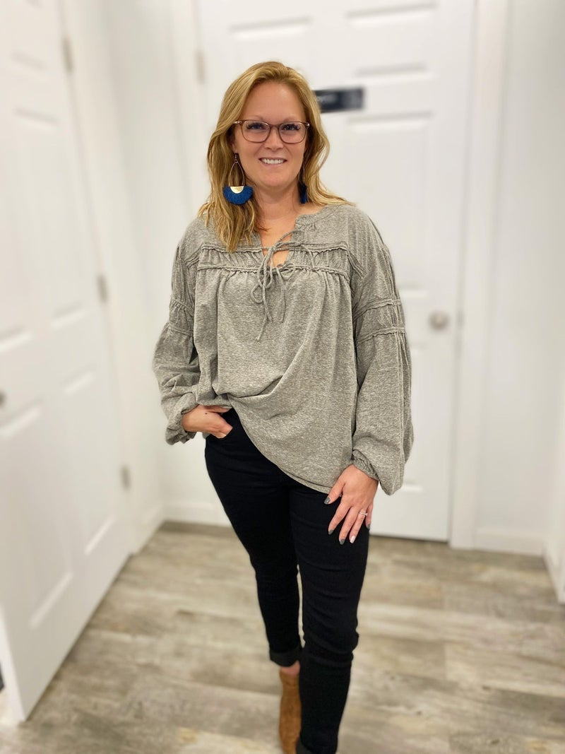 Brittany Boho Style Top (All Sizes)