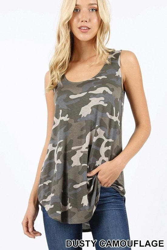 Can't See Me Camo Tank (2 Colors)