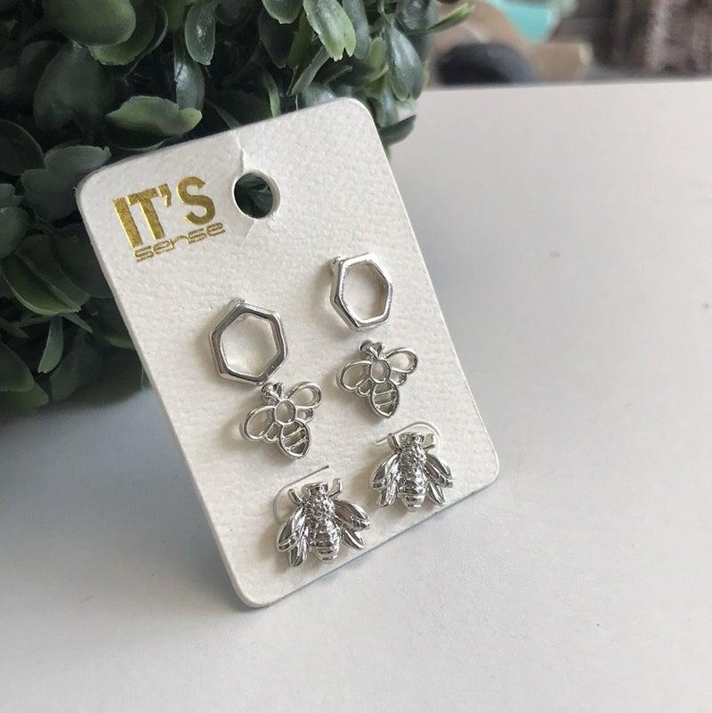 Oh Honey! Earring Set