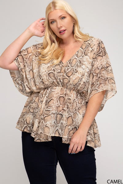 Trish Top in All Sizes by She + Sky