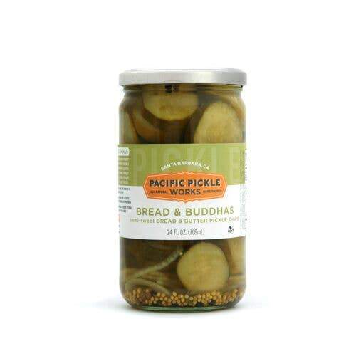Bread and Buddhas - Sweet Bread & Butter Cucumber Pickles