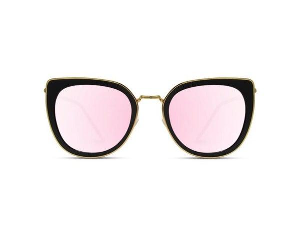 Shay Cat Eye Pink Lens Sunglasses