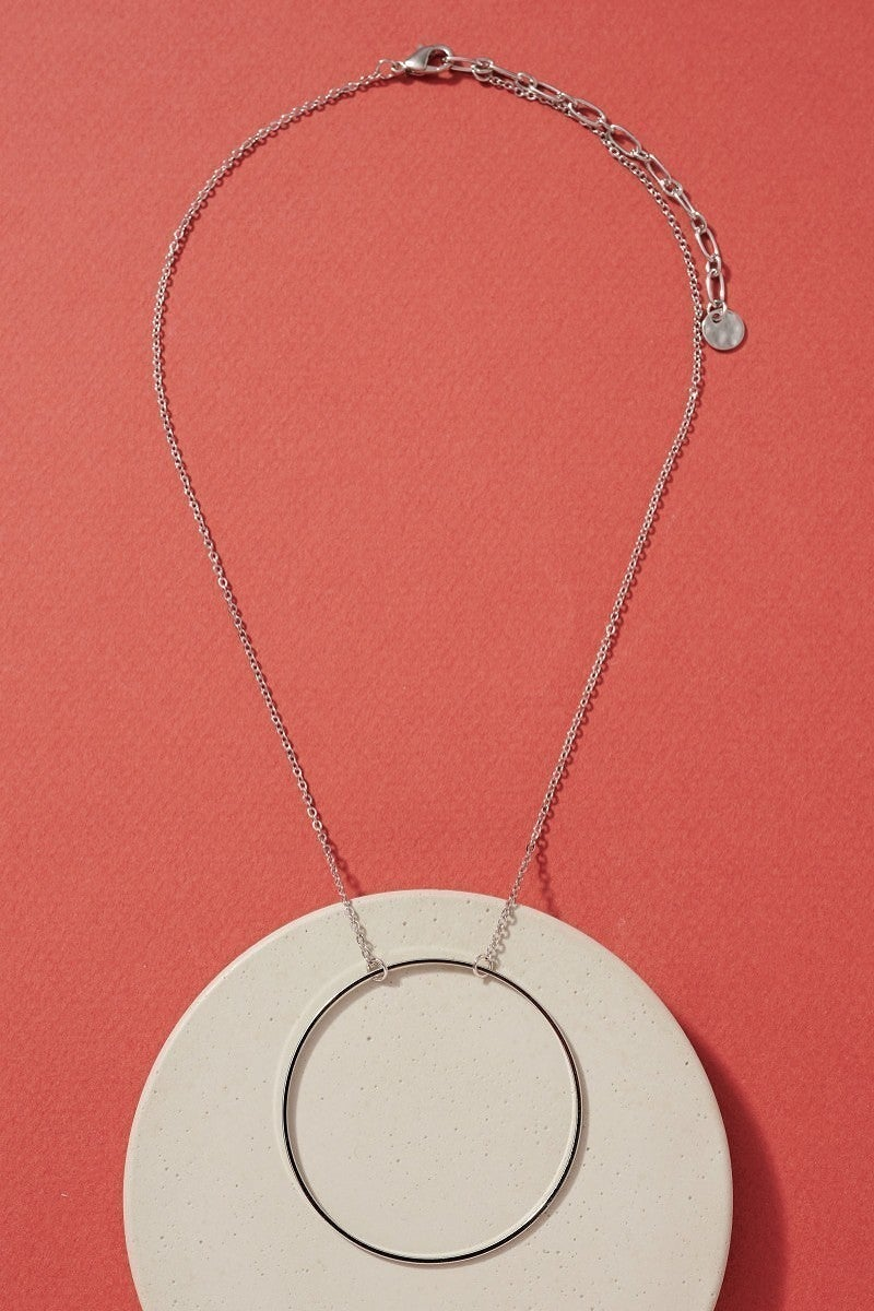 Circle Pendent Necklace